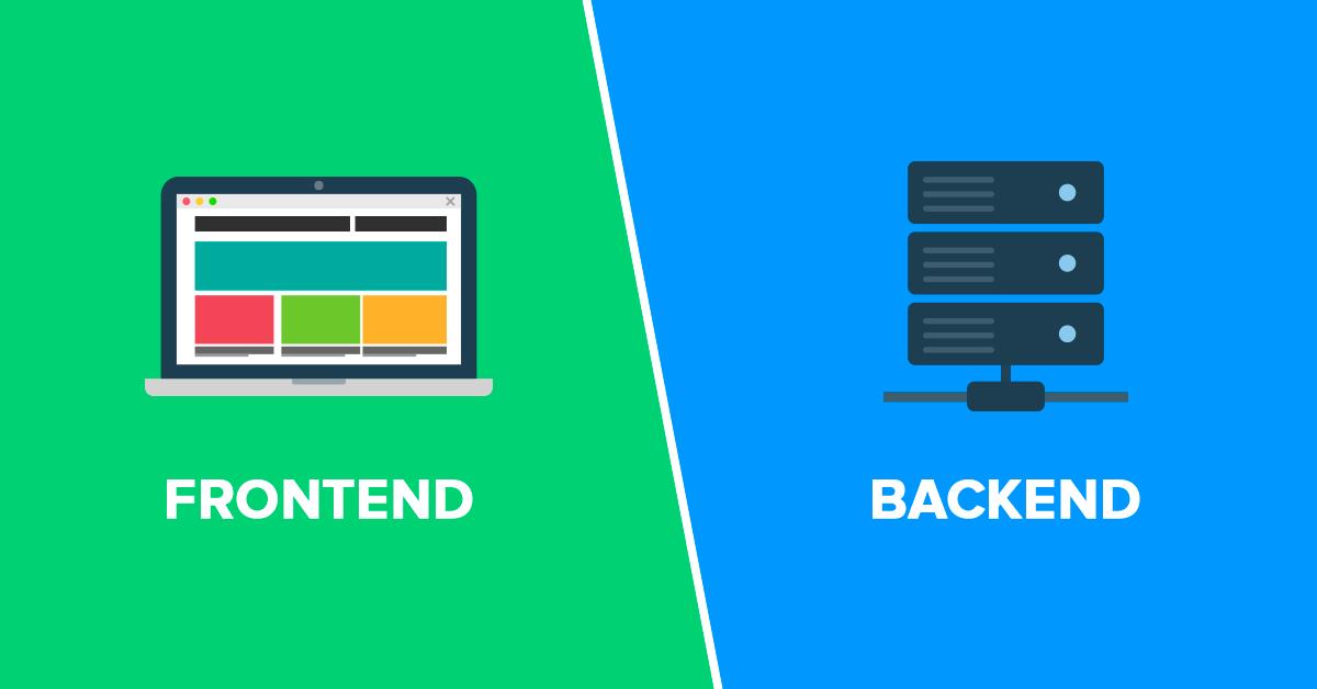 ماذا يعني Front-end و Back-end ؟